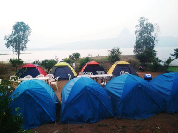 lakeside camping near mumbaii