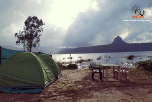 Pawna Lake Camping campsite A