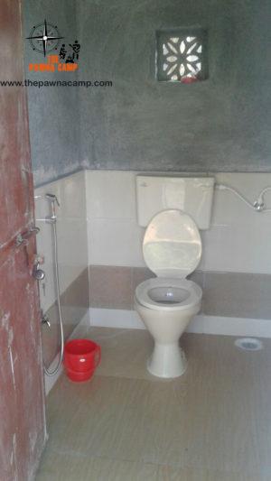 toilets at campsite B