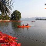 Kayaking at Pawna Lake