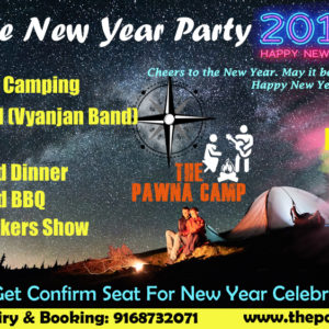 New Year celebration at Pawna Lake